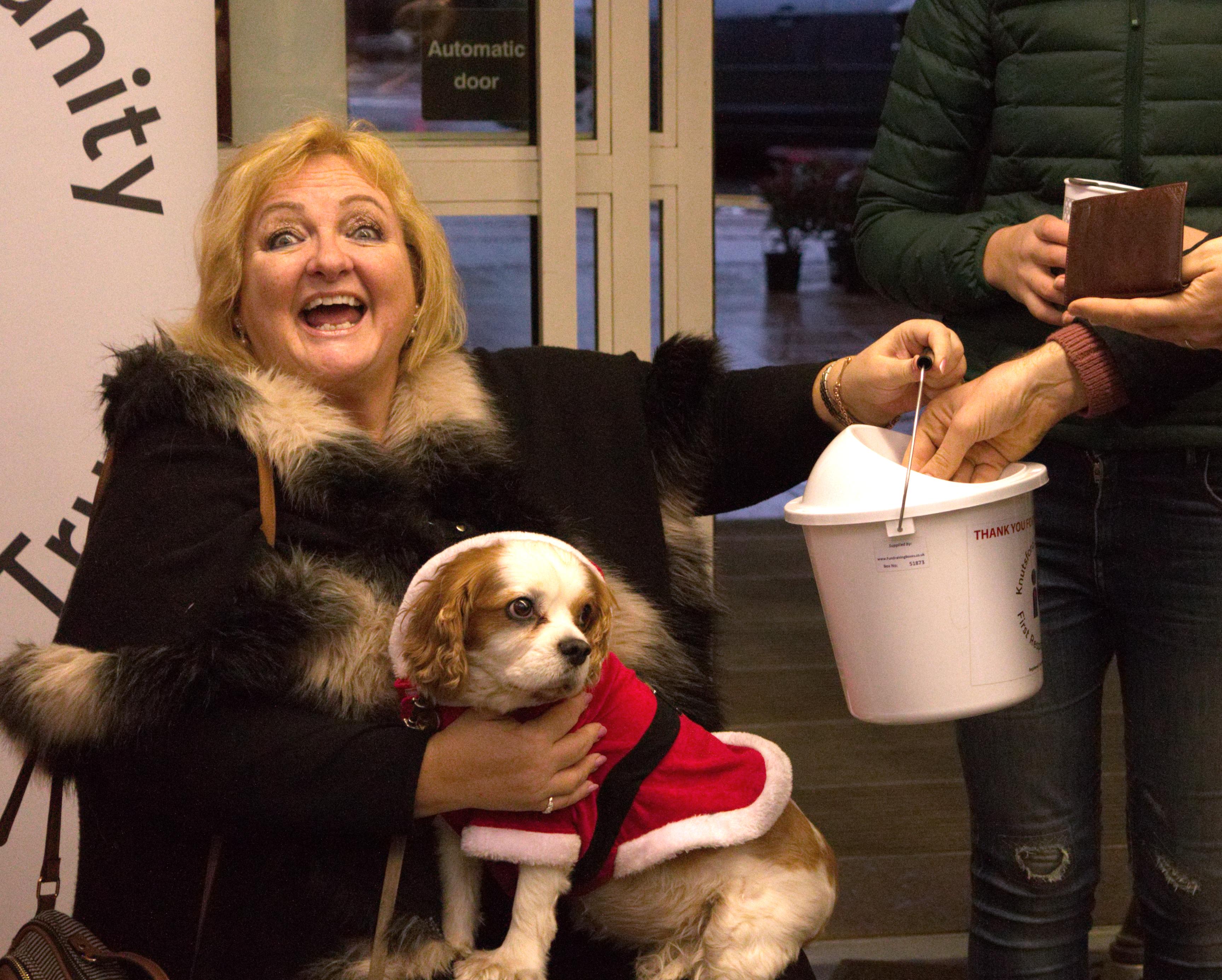 Dog fundraising